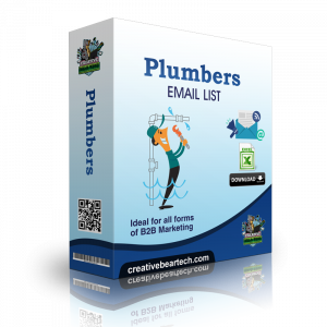 Plumbers Email List - Plumbers Mailing Database for B2B Marketing