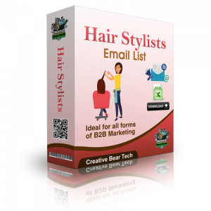 Hair Stylists Email List and Business Sales Leads