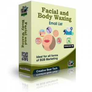 Facial and Body Waxing Email List and Business Marketing Data