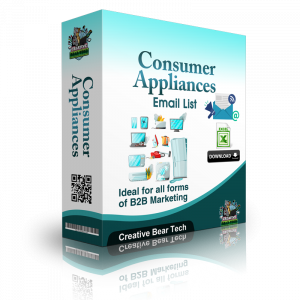 Consumer Appliances Email List and Business Marketing Data