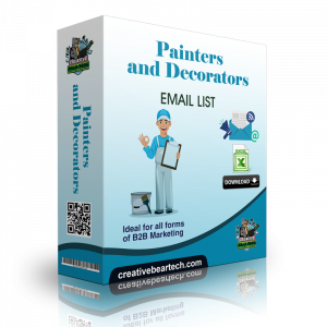 Painters and Decorators Email List and B2B Database