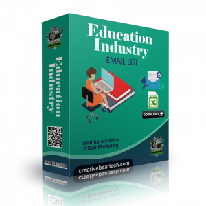 Education Industry Email List and B2B Database