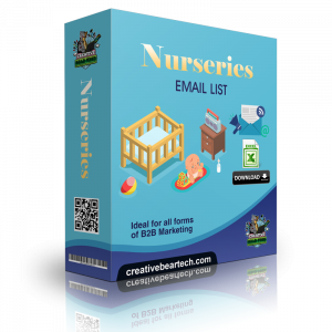 Nurseries Email List and B2B Database