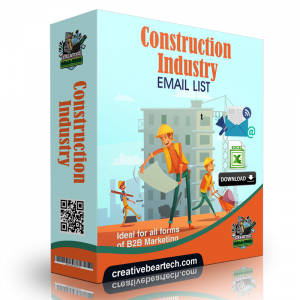 Construction Industry Mailing Lists and B2B Sales Leads