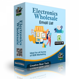 Electronics Wholesale Email List and B2B Database