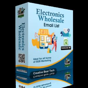 Electronics Wholesale Email List and B2B Database
