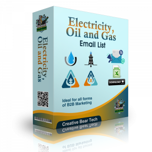 Electricity, Oil and Gas Email List and Business Marketing Data