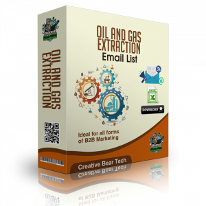 Oil and Gas Extraction Mailing Lists and Business Marketing Data