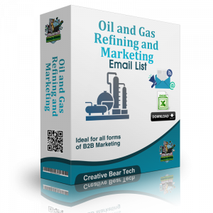 Oil and Gas Refining and Marketing Mailing List and Business Email Addresses