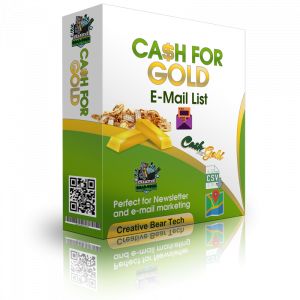 Cash for Gold - Scrap Gold Buyers Email List and B2B Marketing Data