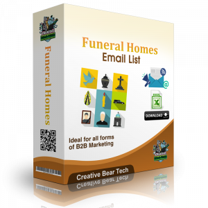 Funeral Homes Email List and B2B Marketing Data