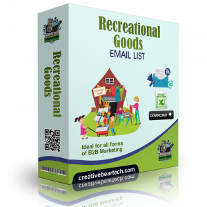 Recreational Goods Email List and B2B Marketing Data