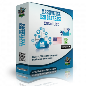 Massive USA B2B Database of All Industries