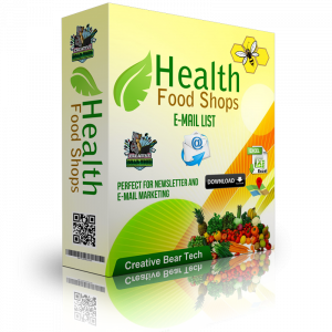 Vitamins and Supplements Manufacturer, Wholesaler and Retailer B2B Marketing Data