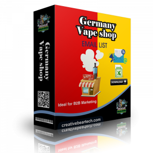 Germany Vape Shop Database