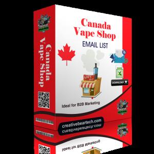 Canada Vape Shop Database