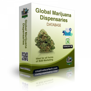 USA Marijuana Dispensaries B2B Business Data List with Cannabis Dispensary Emails