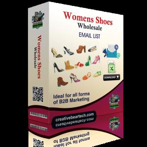 Women's Shoes Wholesale B2B Email Marketing List