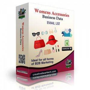 Women's Accessories Business Data List with Emails
