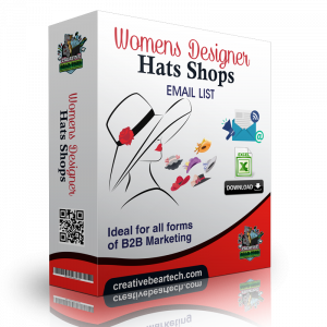 Women's Designer Hats Shops B2B Business Data List with Emails