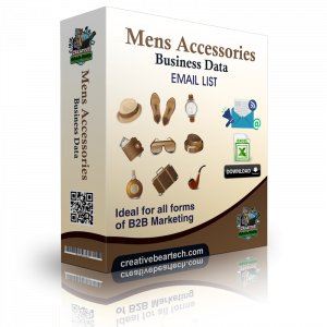 Men's Accessories Business Data Lists with Emails