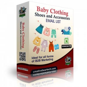 Baby Clothing, Shoes & Accessories Business Sales Leads with Emails