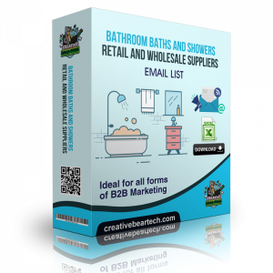 Bathroom Baths and Showers Retail and Wholesale Suppliers B2B Data List