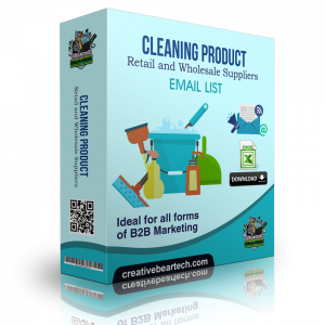Cleaning Product Retail and Wholesale Suppliers B2B Data