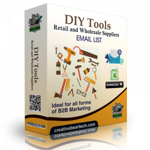 DIY Tools Retail and Wholesale Suppliers B2B Email Marketing List