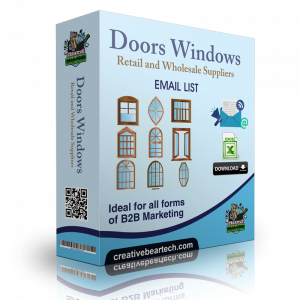 Doors & Windows Retail and Wholesale Suppliers B2B Data List