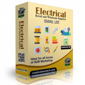 Electrical Retail and Wholesale Suppliers B2B Data List