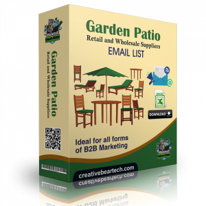 Garden & Patio Retail and Wholesale Suppliers B2B Email List