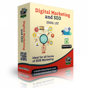 Digital Marketing and SEO Email List