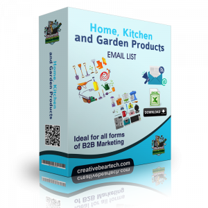 Home, Kitchen and Garden Products Email List