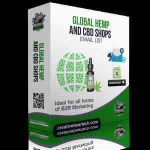 Global Hemp and CBD Shops Database