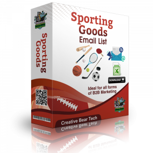 Sporting Goods Email List and B2B Database of Sporting Goods Stores List