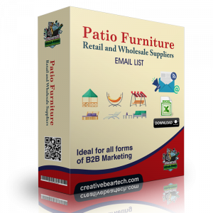 Patio Furniture Retail and Wholesale Suppliers B2B Data List