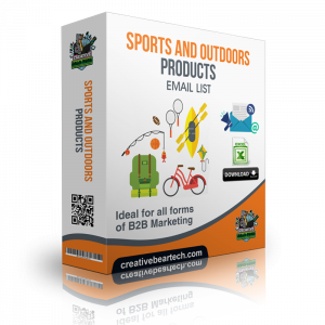 Sports and Outdoors Products Email List