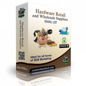 Hardware Retail and Wholesale Suppliers B2B Email List