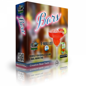 Bars Email List - Database of Bars with Email Addresses