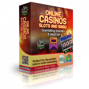 Online Casinos and Gambling Sites Email List