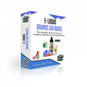 Eliquid Brands Database - List of Ejuice Brands with Emails