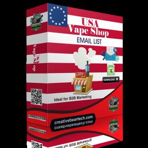 USA Vape Shop Database with Vape Shop Contact Details