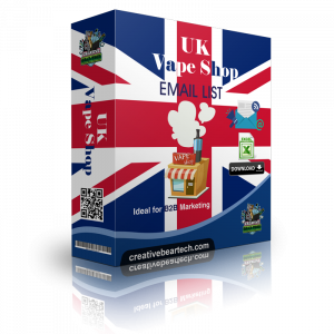 UK Vape Shop Database with Vape Shop Contact Details