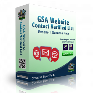 GSA WEBSITE CONTACT Verified List of Website Contact Form URLs