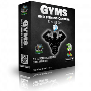 Gyms and Fitness Centers Email List and B2B Sales Leads