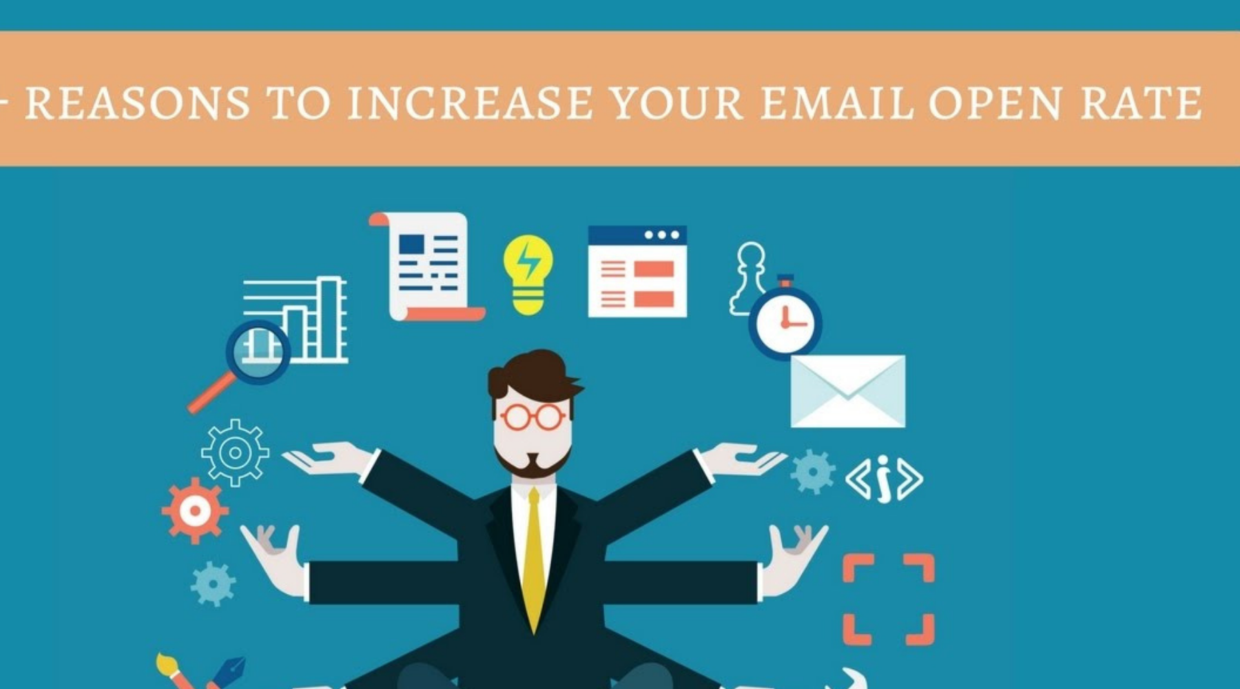 How to increase the open rate with the help of the subject line