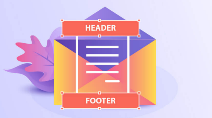 Building a flawless email header